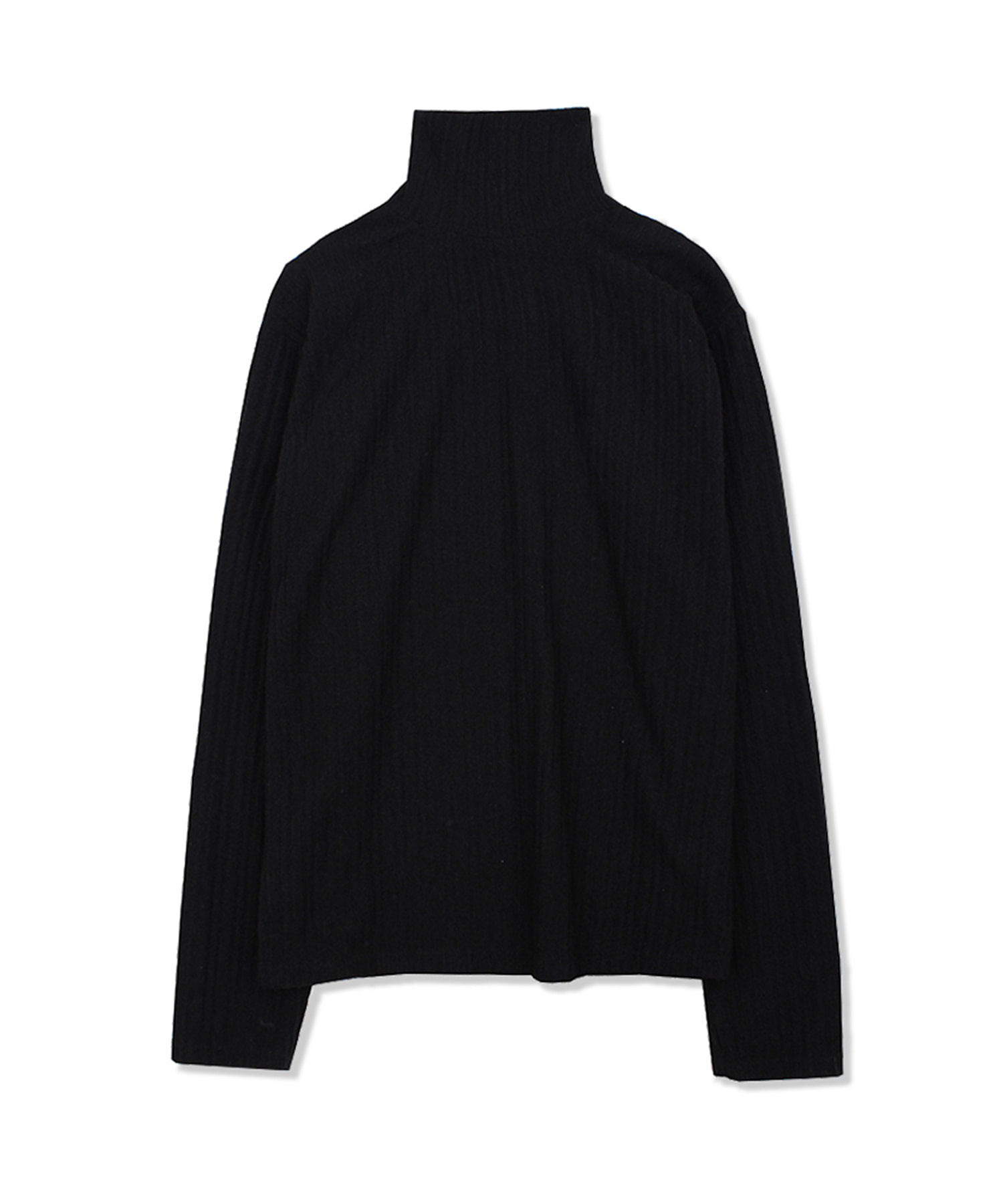 DWS LONG SLEEVE TURTLE NECK(WOMEN)(BLACK)