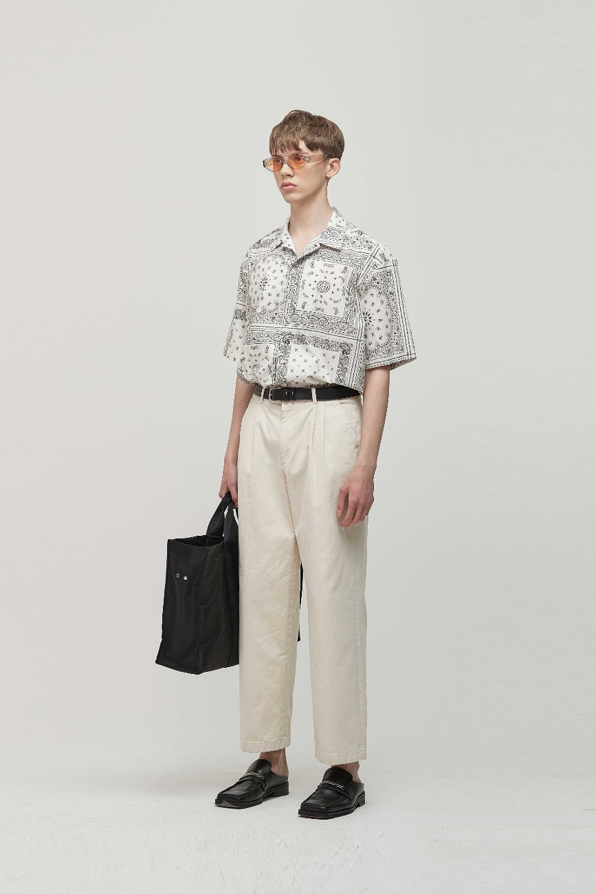 PAISLEY SHIRTS + TROUSER PANTS