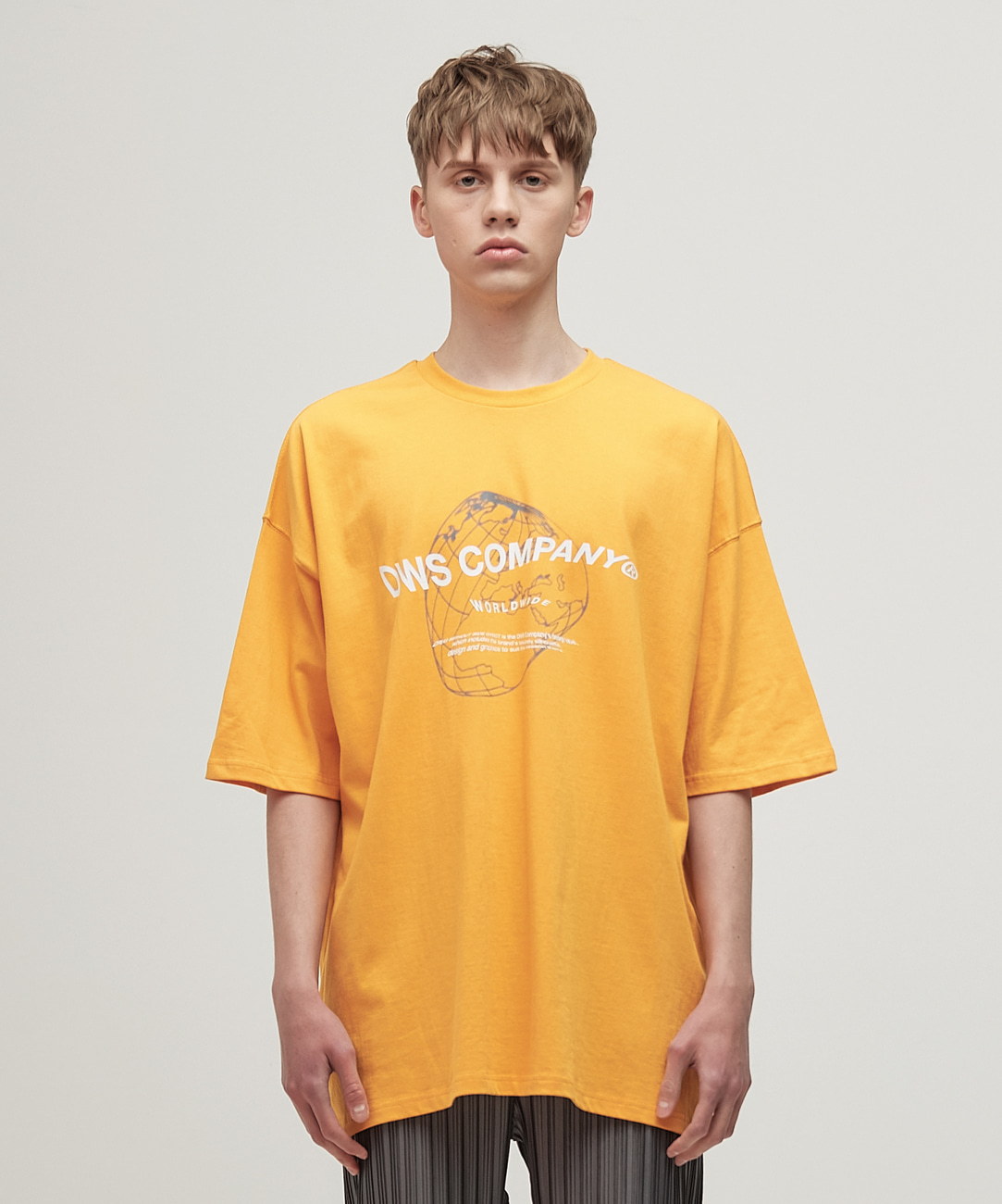 DWS WORLDWIDE T-SHIRT(YELLOW)