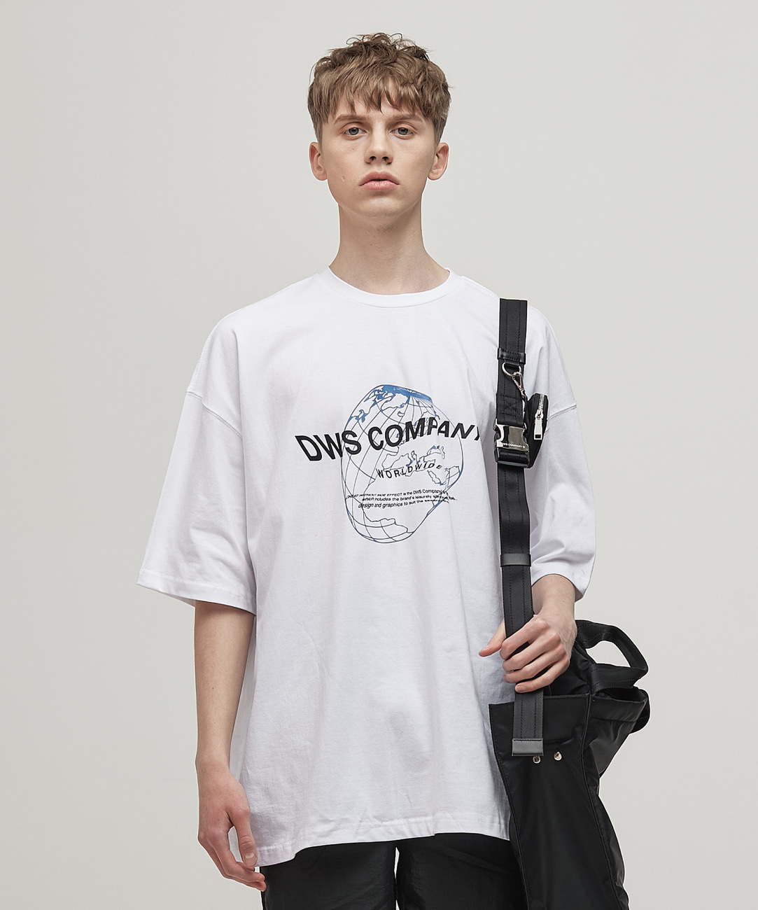 DWS WORLDWIDE T-SHIRT(WHITE)