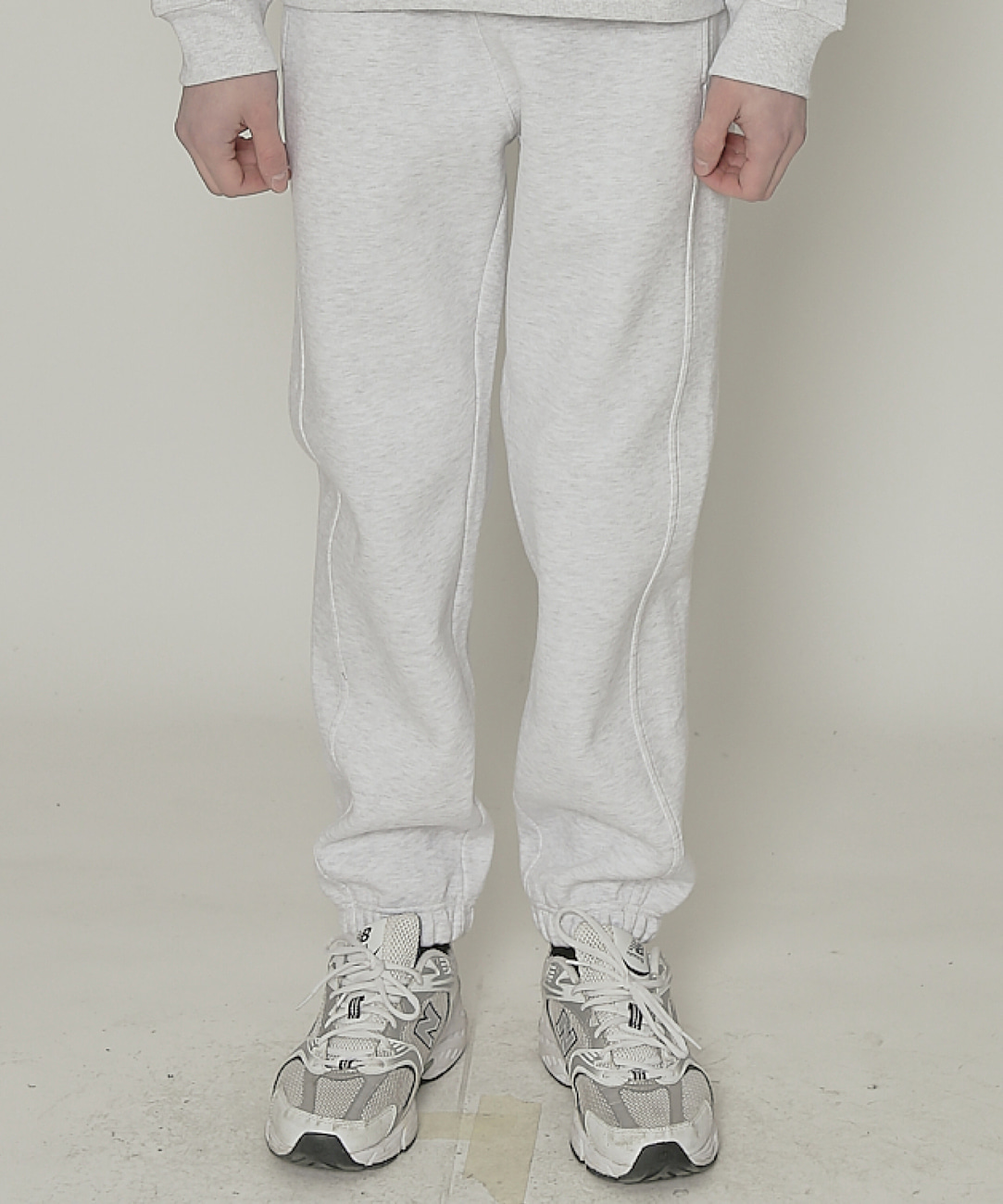 DWS ESSENTIAL JOGGER PANTS(LIGHT GREY)