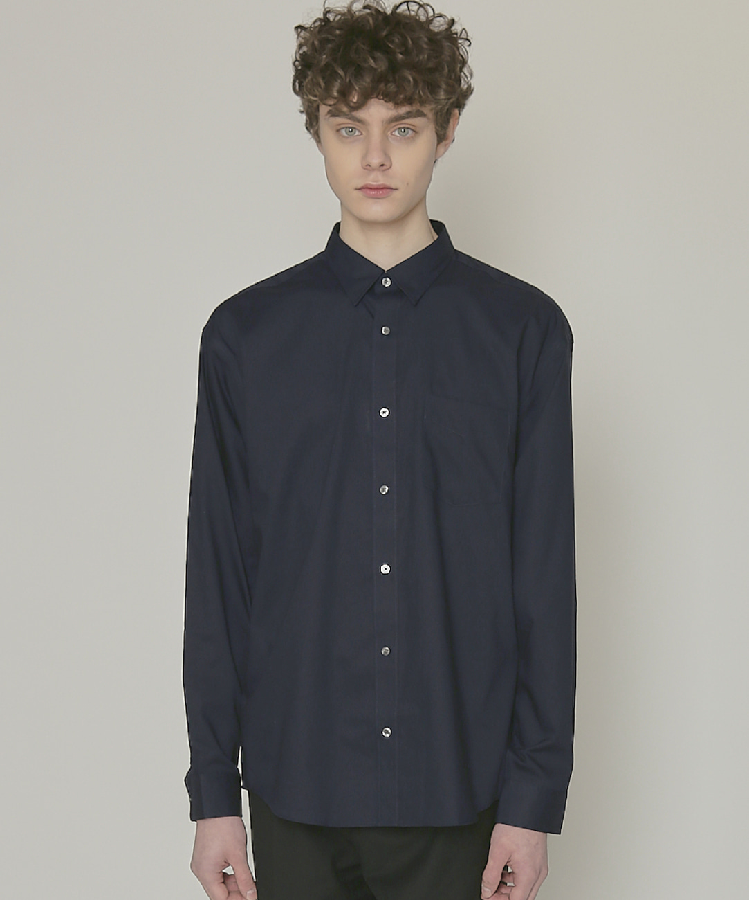 DWS ESSENTIAL SHIRTS(NAVY)